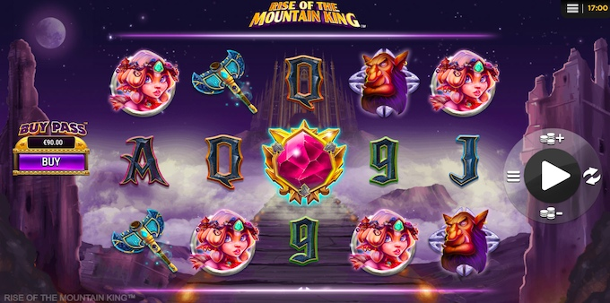 Rise of the Mountain King slot SD Digital