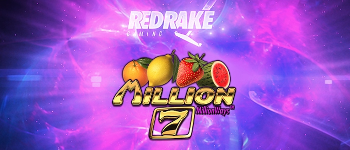 Million 7s slot Red Rake