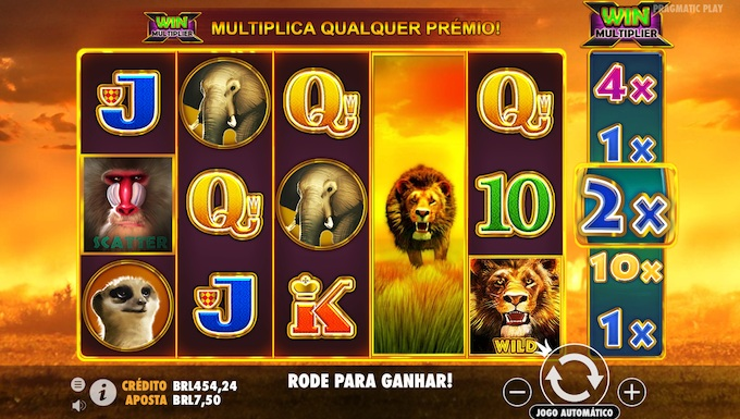 Hot Safari slot Pragmatic Play