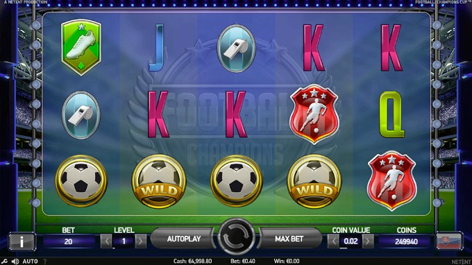 Design slot Football: Champions Cup