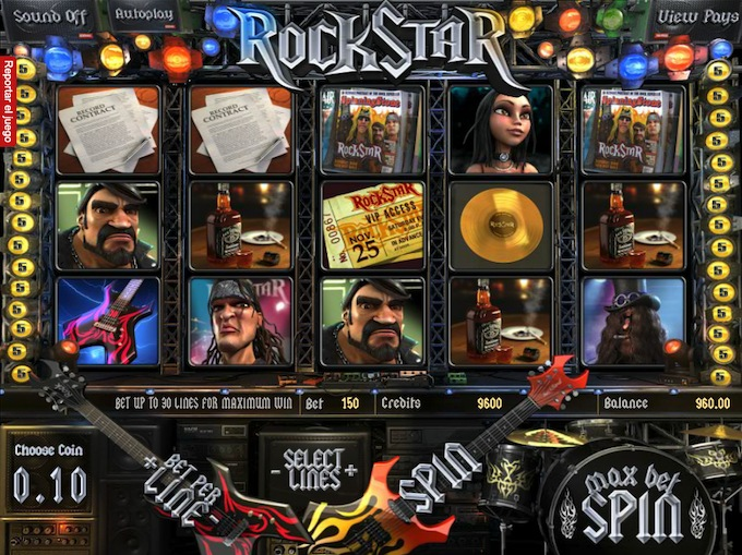 Rockstar slot Betsoft