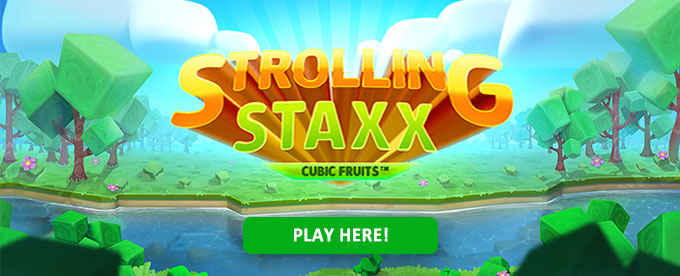 Jogue agora Strolling Staxx Cubic Fruits